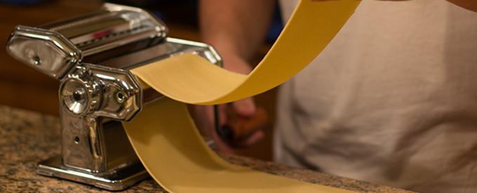 homemade sourdough pasta