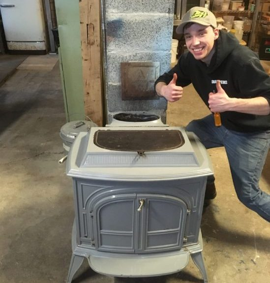 farm renovations woodstove